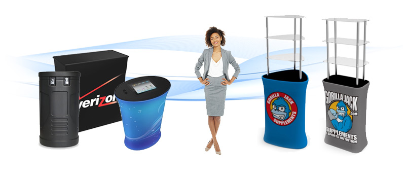 CASES AND PODIUMS